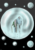a bubble made for two by nature-wanderer