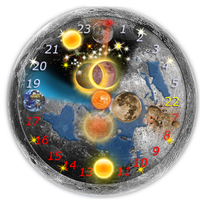 Cosmos Time  Clock Space by ordisoft