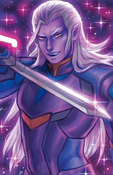 Prince Lotor by GhostlyStatic