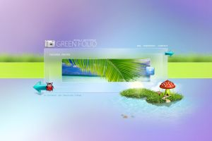 Green Folio -  Wed Design by zaib