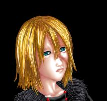 Bored Drawing of Mello Again by Konneh