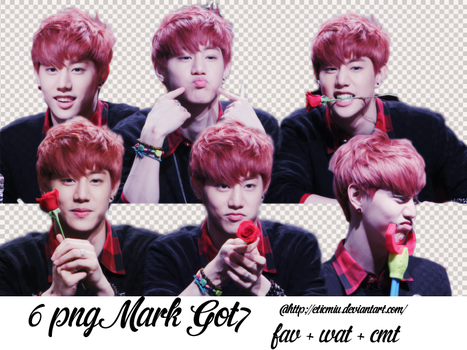 6 Png Mark Got7 by EticMiu
