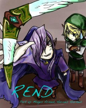 Rend: Part 10 Cover Doodle by fleetfleets