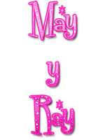 May y Ray PNG Pink by MFSyRCM