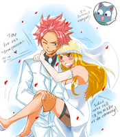Nalu wedding by dawntwilight