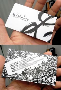 Doodle Business Card by LeiMelendres