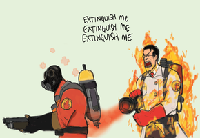 TF2 - Fire, fire, FIRE by ah-darnit