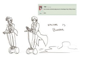 Request-ish: Segway-thingie by hollyoakhill