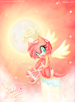 Rose Angel by shamel-art