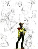 Dre Day Sketches 81 by Dreballin3x