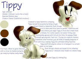 Character Referance: Tippy by xAshleyMx