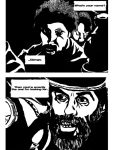 Django Unchained noir comic test page by brickwallsam
