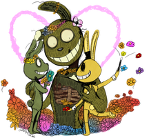 FNAF - Flowers for Mother's Day by Atlas-White