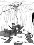 RPG scene 3 - Attack of giant rats by DiegoUmTois