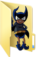 (Request) Bat Mite folder icon by ToonAlexSora007
