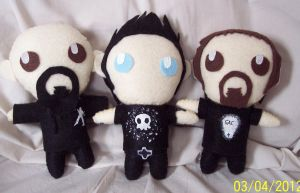 Ghost Adventures Plush Dolls by TatsuoMizushima