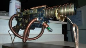 steampunk nerf gun.  by Madd-Mike