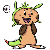 Chespin by ColonelCheru