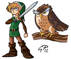 Link-Owl by xGeekpower