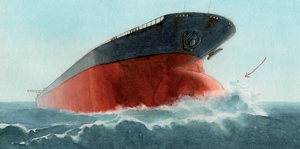 Oil tanker by Cath-Ion