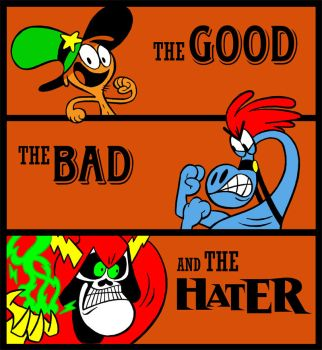 The Good, The Bad, The Hater by RABBI-TOM