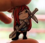 Finished Erza charm by spearcarrier