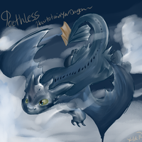 Toothless Speedpaint by Xetak6
