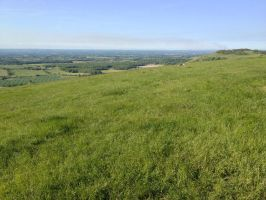 Devils dyke - West Sussex looking north east by Fragsey