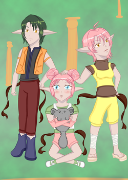 SqueezeMeLittle Contest Entry KishAmai Children by LuckyDragonfly