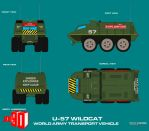 Gerry Andersons Joe 90 U57 Explosives Transporter by ArthurTwosheds