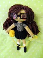 ME in yarn form by Zhonaluz