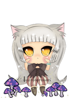 HM: Animal Parade Chibi Witch by Minuet-Melody
