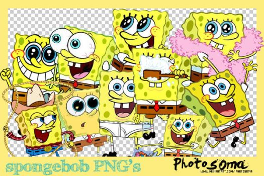 SpongeBob PNG's by photosoma