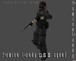 Damian Handy USS Agent by DamianHandy