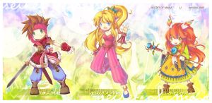 Secret of Mana by tomokii