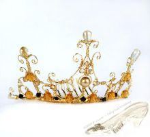 Regency Filigree Tiara by starbright2040
