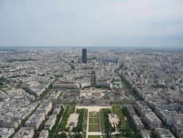 Paris Aerial View STOCK by Chiron178