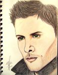 Dean Winchester Sketch 4 by ChananaTaecItOff
