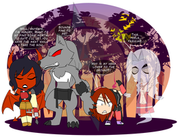 The Square Enix Costume Party 4 by Dragon-FangX