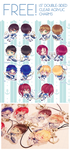 Charms: Free! Sailor Outfits by Haiyun