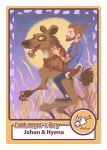 Mew ( band ) Zookeeper's Boy Card - Johan by LordlessTime