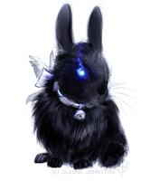 puka: Rabbit for the ball by CircuitDruid