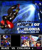 Storm of Cyklonia - Front Cover by Realms-And-Void