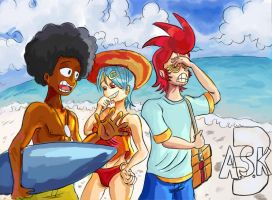 A.S.K.3 Summer's nearly over by HiroyValesti