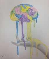 Brain Melt: Process of Creativity by CreativeExistence