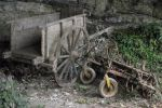 Old wooden cart 02 by HermitCrabStock
