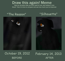 Draw This Again - The Reason / Silhouette by Mcingake