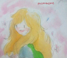 Fionna watercolor by memmemn