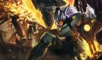 League Of Legends PROJECT: Leona Wallpaper by Strikers-Sergio-F