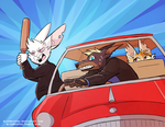 Road Rage! by DrZombieFox